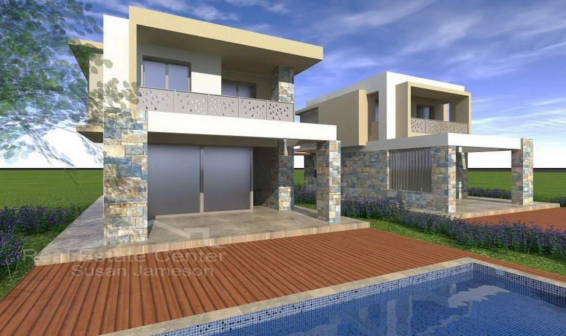 Modern, Stone Decor, NEW BUILT VILLA!!