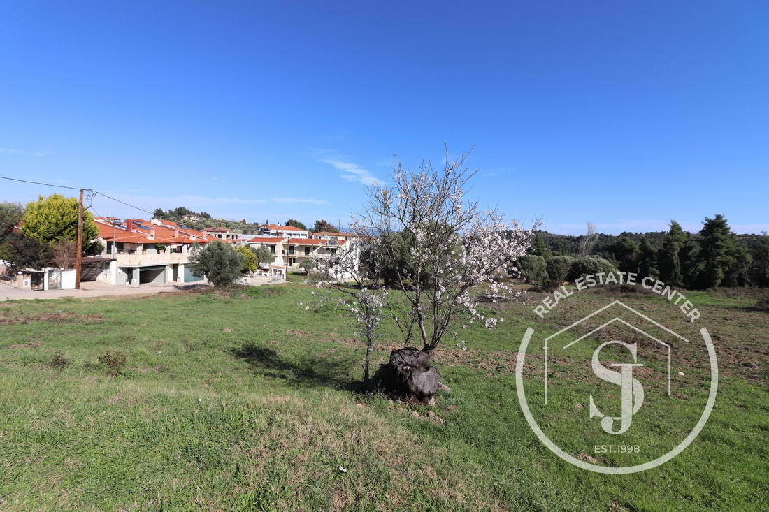 Plot Of Land In The Quiet Town Of Paliouri!!
