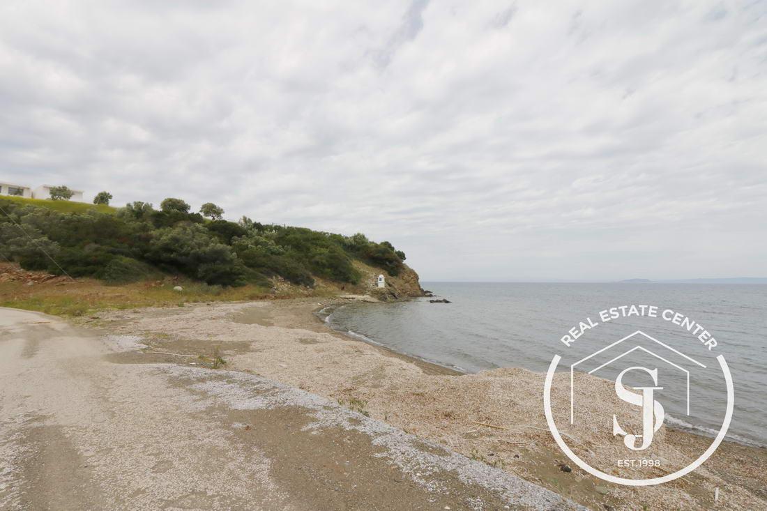 Prime Land Near The Beach In Paliouri Agio Nikolos Kanistro (Sea Views)!!