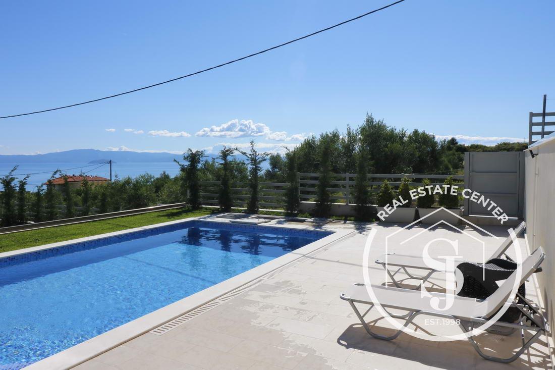 Beautiful Villa Panoramic Views, Private Pool Hanioti!!!