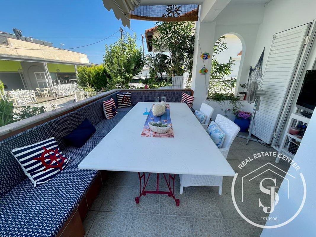 30 M From The Sandy Beach, Maisonette, Fully Furnished!!